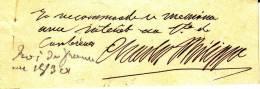 Autographe Charles X (1757-1836), Roi De France (1824-1830) - Autographes