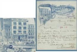 1894 - FATTURA PUBBLICITARIA (ADVERTISING) - LONDON - CYCLE FITTINGS - LAMP MANUFACTURERS - SPLENDIDA - United Kingdom