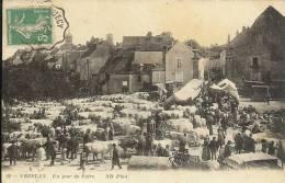 89 - VEZELAY - Un Jour De Foire - Vezelay