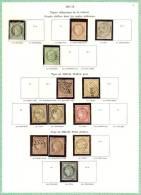 FRANCE 1871/75 Cote 346 Euros - 1871-1875 Cérès
