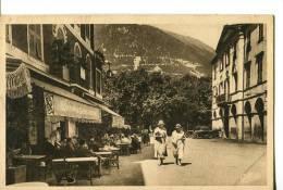 """CPA : ST-MARTIN-VESUBIE : La Suisse Niçoise : En 1er Plan à Gauche Un Café-restaurant """"Soirée De Gala ???????"""" - Saint-Martin-Vésubie"""