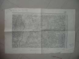 TOURNUS PRETY LE VILLARS RATENELLE CHIZY ALBAIN MONTBELLET ARBIGNY COURTES MONTPONT VERNOUX ST TRIVIER ST NIZIER CORMOZ - Cartes Topographiques