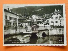 E1-suisse--vaud-vallorbe-le Pont Sur Onbe-le Coin Des Truites--hotel De Ville-animee--camion- - VD Vaud