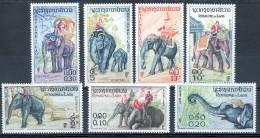 Laos 1958 Elephants MNH** - Lot. 1763 - Laos