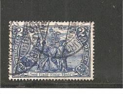 Mi.Nr.095AI, 1906, 2 M. Nord/Süd  O - Deutschland