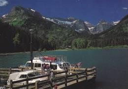 Boat Docks, Goat Haunt Landing, Glacier National Park, Upper Waterton Lake, Montana, Alberta, Canada, 50-70´s - Sonstige