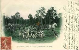 Chasse à Courre  En Forêt De Fontainebleau  En Défaut - Hunting
