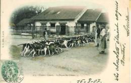 Chasse à Courre  Hallali  Repas Des Chiens - Hunting