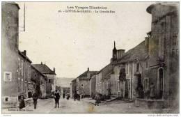 88-LIFFOL-le-GRAND- La Grande   Rue ---animée- - Liffol Le Grand