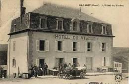 Garabit, L'Hôtel Du Viaduc (animée, Voiture) - France
