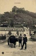 L'Auvergne, Entrée De Vic Sur Cère, Vue Du Rocher De Meisonne - France