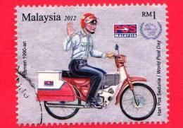 MALESIA - MALAYSIA - Usato - 2012 - Postino - Postman Uniforms  - RM 1 - Malesia (1964-...)