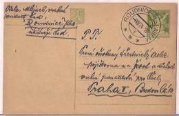 Czechoslovakia Airmail Cover WWII, 1945, Postal Histary, Postal Markings, (9480) - Tsjechoslowakije
