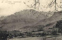 CPA ( 20)  CALENZANA Vue Generale - France