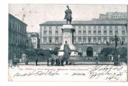 10565    NAPOLI  NAPLES   Monumento Vittorio Emanuele  1900 - Italia