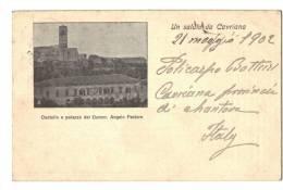 10570    UN SALUTO DA CAVRIANA   1902   PUBLICITE - Italie