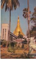 AS003 - A Way To Shwedagon Platform By Southern Lift - Myanmar (Burma)