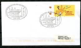 """Germany 2004 Sonderbeleg Briefzentrum 26 Mit Mi.Nr.2344 U.SST""""26135 Oldenburg,Briefzentrum 26,Tag D.offnen Tür""""1 Beleg - Posta"""