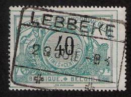 TR 20, Afst. LEBBEKE 29/07/1903 - 1895-1913