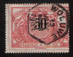TR 21, Afst. WOLUWE 13/01/1903 (lijn Q/L - Tervuren) - 1895-1913