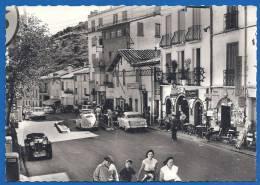 (ma) CPSM Grand Format - PYRENEES ORIENTALES - LE PERTHUIS - DOUANE FRANCAISE - Véhicules Dont Ancien Petit Cabriolet - Autres Communes