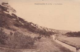 CPA- 95 - VAL D´OISE -CHANTEMESLE -  Les Rochers-  Edition Haincouil - Otros Municipios
