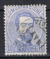 Sello 10 Cts Amadeo 1872, Fechador CARTAGENA (Murcia), Num 121 º - 1872-73 Reino: Amadeo I