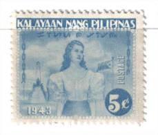 SS3035 - FILIPPINE Occupazione Giapponese 1943 : 5 Cent Integro  *** - Filippine
