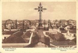 PORTUGAL - ALPIARÇA - VISTA PARCIAL - 1940 PC - Santarem