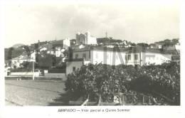 PORTUGAL - ARREPIADO - VISTA PARCIAL E QUINTA SOMMER - 1950 REAL PHOTO PC - Santarem