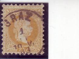 FRANZ JOSEPH-2 KR-PERFORATION 9-GRAZ-AUSTRIA-1867 - 1850-1918 Impero