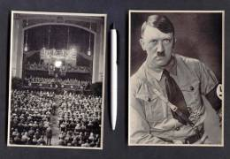 Original 1936: 225 Photo-like III. Reich Photo Prints LARGE SIZE - RISE FIGHT VICTORY Of The Nationalsoc. Party - Guerra 1939-45