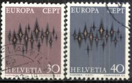 Svizzera 1972, Europa (o), Serie Completa - Europa-CEPT