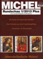 MICHEL Briefmarken Rundschau 1/2013plus Neu 5€ New Stamp Of The World Catalogue Magacine Of Germany ISBN 4 194371 105009 - Creative Hobbies