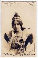 PHOTOGRAPHS WOMAN A LADY REUTLINGER PARIS Nr. 11 OLD POSTCARD 1904. - Photographs