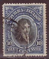EQUATEUR - 1901 - YT  N°  130 Oblitéré - Equateur
