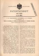 Original Patentschrift - C.W. Fleischmann Und K. Fischer In Sulzbach I. Oberpfalz , 1900 , Schloß Für Tür , Türschloss ! - Historische Dokumente