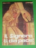 S.FRANCESCO D´ Assisi -  Anno 1988 - Bergamo - Monastero S.Chiara - Professione Temporanea - Santino - Images Religieuses
