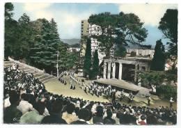 Cpsm:  30 BAGNOLS SUR CEZE (ar. Nîmes) Le Théâtre De Verdure Au Mont Cotton  (animé, Fanfare, Défilé) N° 37 - Bagnols-sur-Cèze