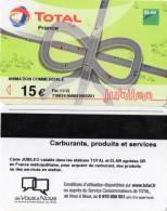CARTE LAVAGE TOTAL  15e   Jubileo - France