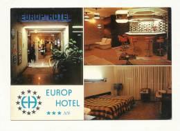 Cp, Commerce, Europ Hôtel - Menton (06), Multi-Vues - Otros
