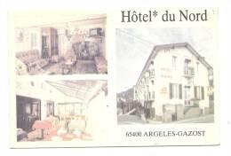 Cp, Commerce, Hôtel Du Nord - Argelès-Gazost (65) - Commerce