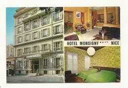 Cp, Commerce, Hotel Monsigny - Nice (06), Multi-Vues, écrite - Commercio