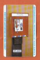 UNITED KINGDOM   - I.P.L. COMMUNICATIONS RARE PHONECARD   - ( 50 UNITS ) - Ver. Königreich