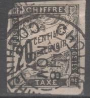 Colonie Française  N° 8 Avec Oblitération Cachet à Date COCHINCHINE TB - Postage Due
