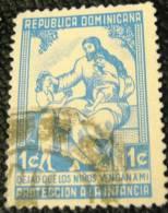 Dominican Republic 1961 Child Welfare 1c - Used - Dominican Republic