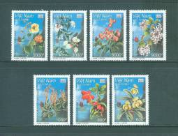 Vietnam: Rare Plants In Ha Long Bay - 2002 Issue - Mint NH - VF - Rare Due To Withdrawn Item - Plants