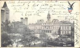 Pk City Hall New York 1902 - Etats-Unis