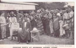 5-Sierra Leone-Tema:Feste, Danze,Musica-Fêtes, Danse, Musique-Feasts:,Dances, Music-v.1906 - Sierra Leone