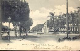 Pk CUBA - Havana - Habana - Prado & Indian Fountain - Postkaarten